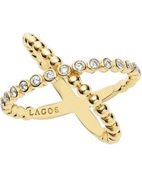Lagos - Caviar Crisscross Ring - Lyst