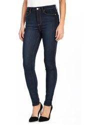PAIGE - Transcend - Margot High Waist Ultra Skinny Jeans - Lyst