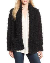 Love, Fire - Faux Fur Jacket - Lyst
