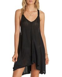 Billabong | Twisted View Cover-up Dress | Lyst