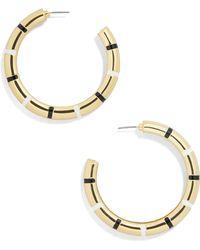 BaubleBar - Olisa Hoop Earrings - Lyst