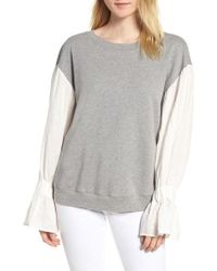 Stateside - Cotton & Linen Pullover - Lyst