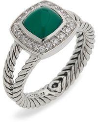 David Yurman - Albion Ring With Semiprecious Stone & Diamonds - Lyst