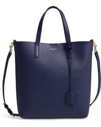 Saint Laurent - Toy Shopping Leather Tote - Lyst
