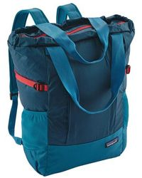 Patagonia - Tote Backpack - Lyst