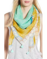 Echo - Deloraine Square Scarf - Lyst