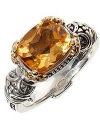 Konstantino - Hermione Two-tone Stone Ring - Lyst
