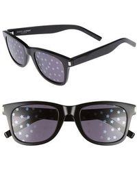 Saint Laurent - Sl51 50mm Sunglasses - Lyst