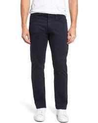 Mavi Jeans - Zach Straight Fit Twill Pants - Lyst