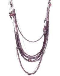 Fabiana Filippi - Vera Multistrand Glass Bead Necklace - Lyst