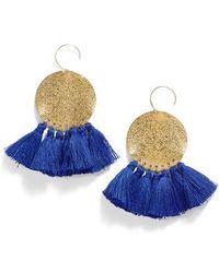 Serefina - Lunar Tassel Earrings - Lyst