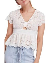 Free People - Truly Yours Top - Lyst