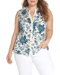 Lucky Brand - Floral Tank - Lyst