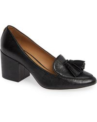 697084ac9062 Lyst - Tory Burch Patent Leather Kaitlin Pump in Black