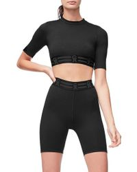 GOOD AMERICAN - Icon Crop Top - Lyst