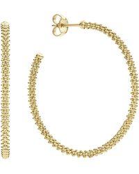 Lagos - 18k Gold Hoop Earrings - Lyst