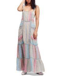Free People - Anika Maxi Dress - Lyst