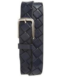 Johnston & Murphy - Basketweave Leather Belt - Lyst