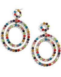 BaubleBar - Florette Drop Earrings - Lyst