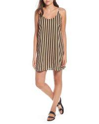 Volcom - Stoney Stripe Slipdress - Lyst