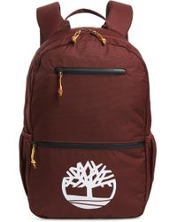 Timberland - Logo Graphic Water Resistant Backpack - Lyst