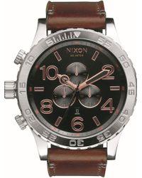 Nixon - 'the 51-30 Chrono' Watch - Lyst
