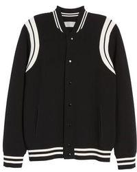 Vince - Varsity Regular Fit Jacket - Lyst