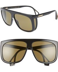 5ea86920c44 Lyst - Gucci Metal Navigator Sunglasses in Blue for Men
