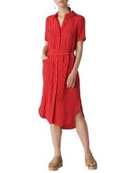 Whistles - Montana Stripe Shirtdress - Lyst