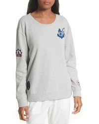 aeee7c799653d7 Soft Joie - Rikke B Applique Sweatshirt - Lyst