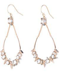 Alexis Bittar - Crystal Encrusted Mosaic Drop Earrings - Lyst
