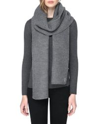 SOIA & KYO | Extra Long Knit Scarf | Lyst