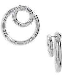Alexander Wang - Double-o Earrings - Lyst