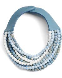 Fairchild Baldwin - Phoebe Beaded Collar Necklace - Lyst
