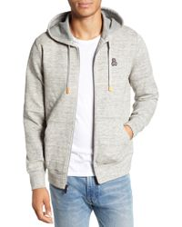 Psycho Bunny - Newry Double Face Zip Hoodie - Lyst