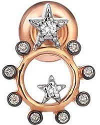 Kismet by Milka | Diamond Stud Earring | Lyst