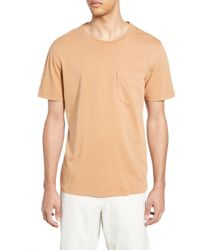 Billy Reid Slim Fit Crewneck T-shirt