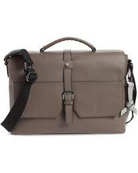 Ted Baker - Ted Baker Sandune Leather Messenger Bag - - Lyst