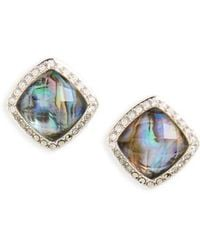 Judith Jack - Tropical Touches Doublet Stud Earrings - Lyst