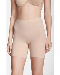Spanx - Spanx Power Short Mid Thigh Shaper - Lyst