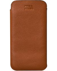 Sena - Ultraslim Iphone X & Xs Leather Sleeve - - Lyst