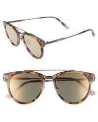 Bottega Veneta - 50mm Sunglasses - Avana Brown - Lyst