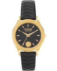 Versus - Mount Pleasant Leather Strap Watch - Lyst
