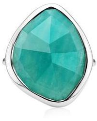 Monica Vinader - Siren Nugget Semiprecious Stone Ring - Lyst