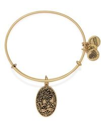 ALEX AND ANI | 'i Love You Sister' Expandable Wire Bangle | Lyst