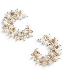 Serefina - Crystal Vine Earrings - Lyst