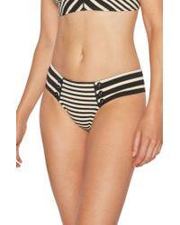 Robin Piccone - Carmen Stripe Bikini Bottoms - Lyst