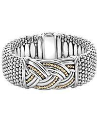 Lagos - Torsade Wide Rope Bracelet - Lyst