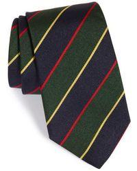 Gitman Brothers Vintage - Stripe Silk Tie - Lyst