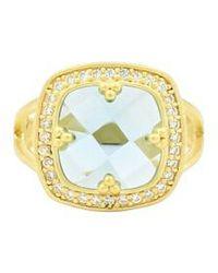 Freida Rothman - Ocean Azure Cubic Zirconia Ring - Lyst